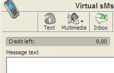 Virtual SMS Handset