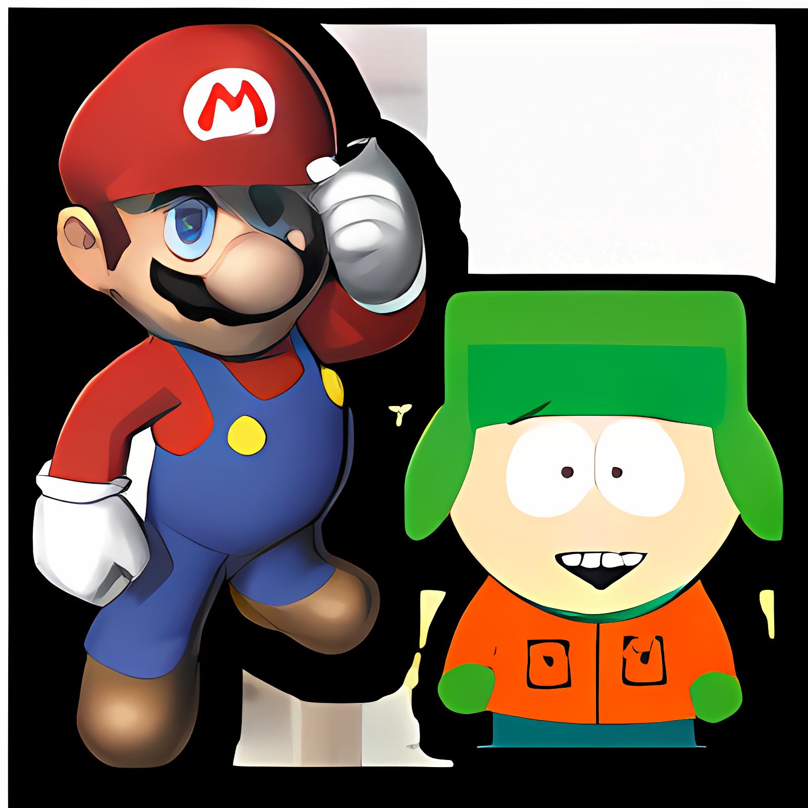 SouthPark Super Mario Bros