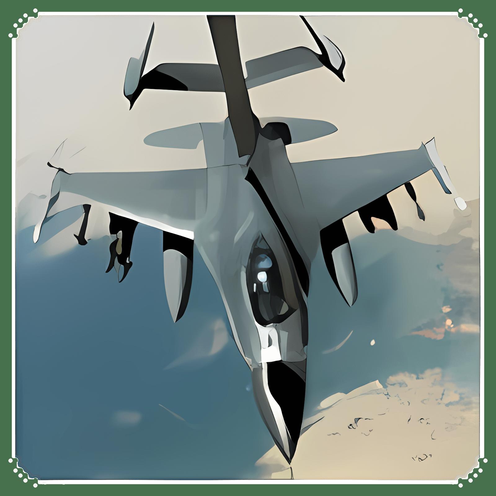 RMS F-16 Fighting Falcon Screensaver