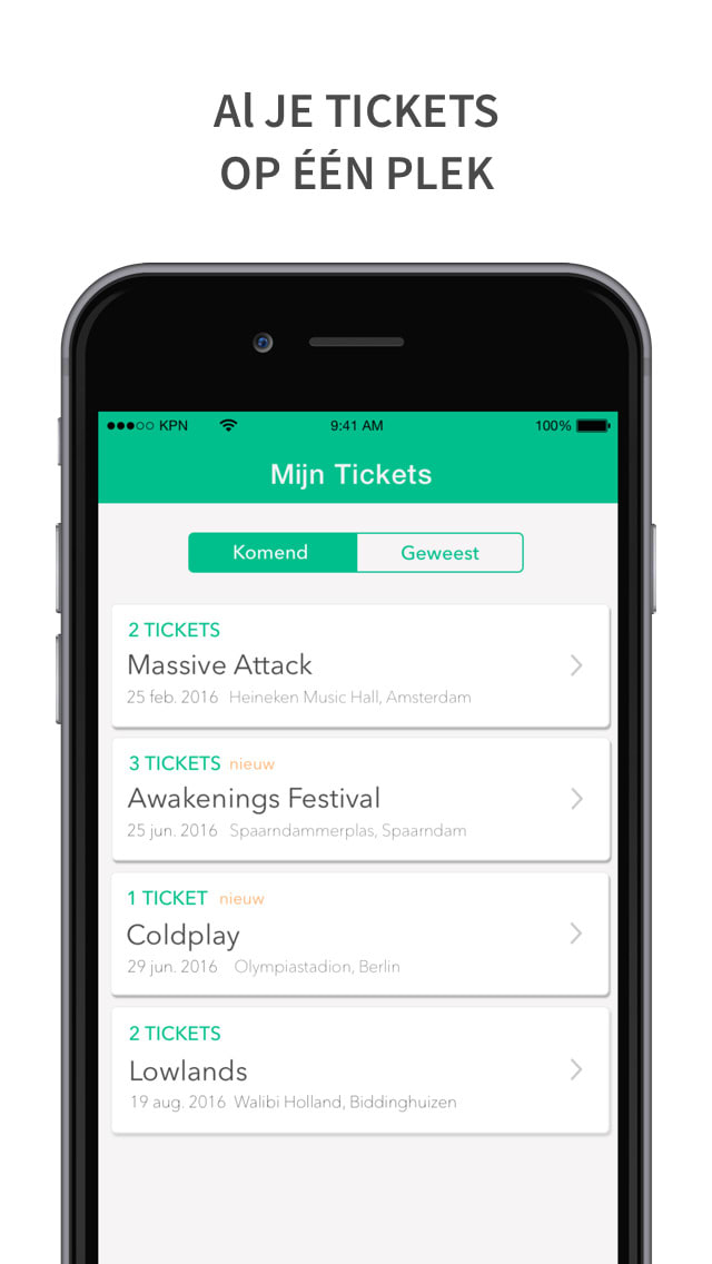 TicketCatcher - All your tickets in one place.