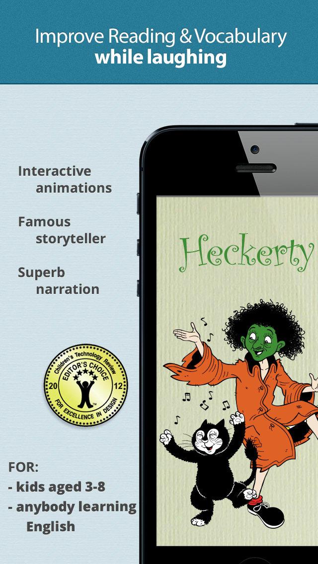 Heckerty's Christmas (Las Navidades de Heckerty) — Un libro de cuentos familiar y divertido para aprender a leer en inglés (#7 in the Heckerty Story Series)