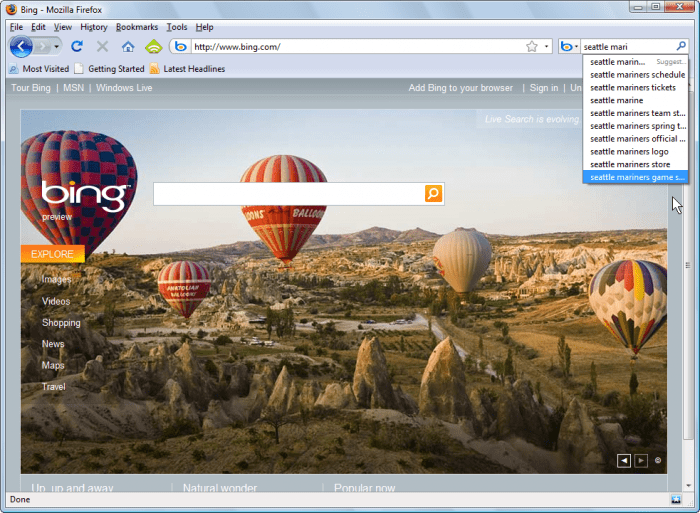 how to add website to bing