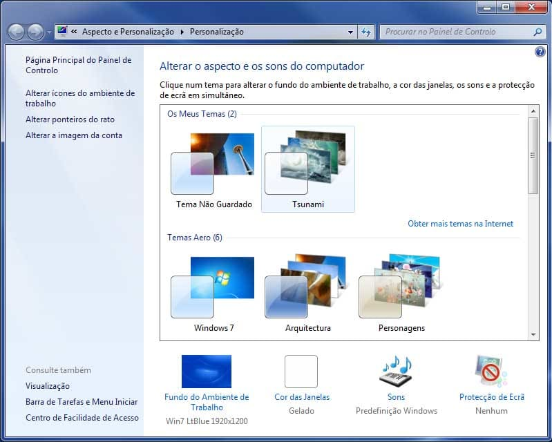 Tsunami Windows 7 Theme