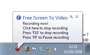 Free Screen To Video