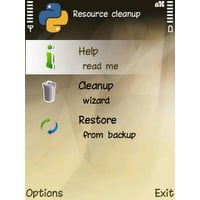 S60 Resource Cleanup