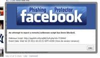 Facebook Phishing Protector