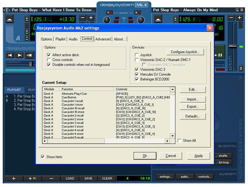 Deejaysystem Audio Mk-II