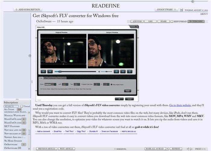 Readefine