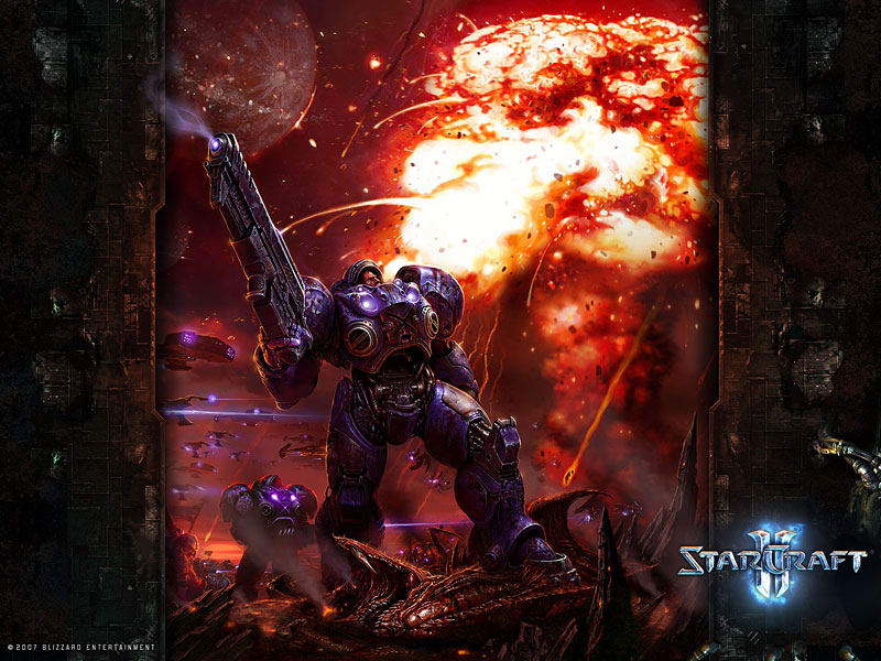 Tapety StarCraft 2