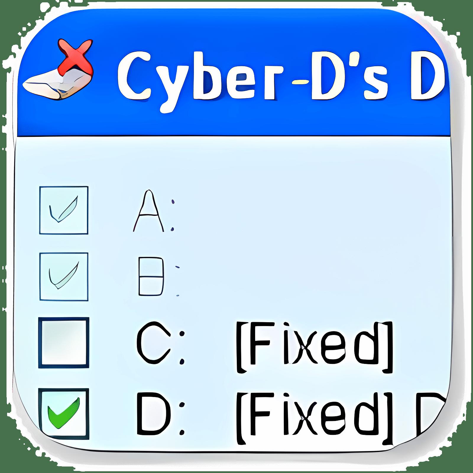 Cyber-D's DriveHide