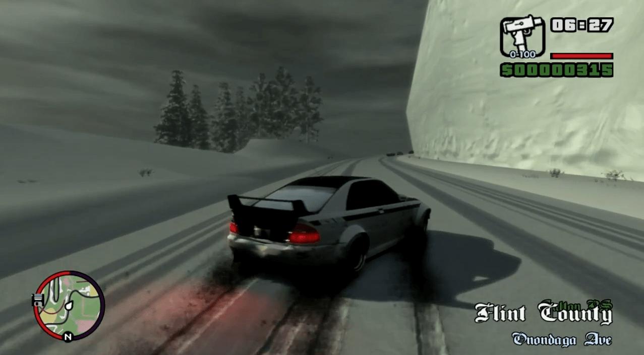 GTA IV San Andreas - Snow Edition
