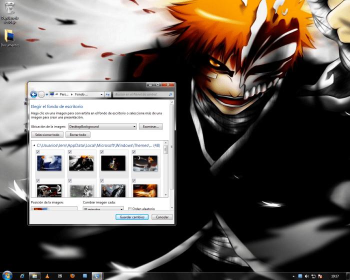 Bleach Tema para Windows 7
