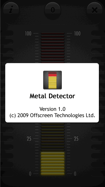 Metal Detector Touch