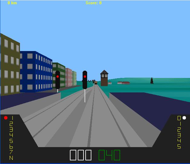ArcRail Train Simulation