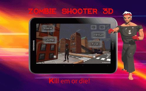 Zombis Urban 3D Shooter