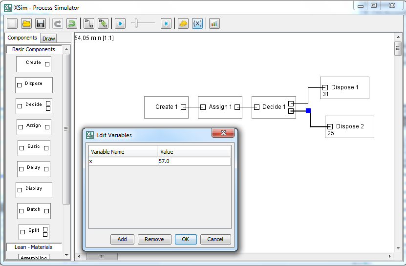 XSim - Process Simulation Tool