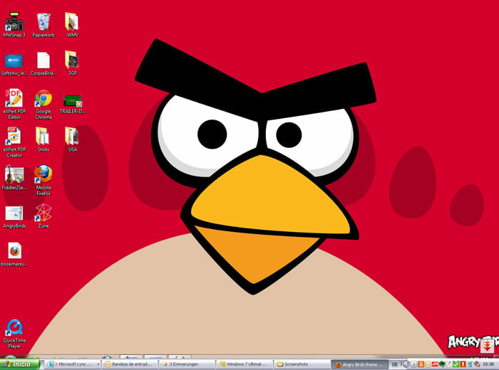 Angry Birds Theme para Windows 7