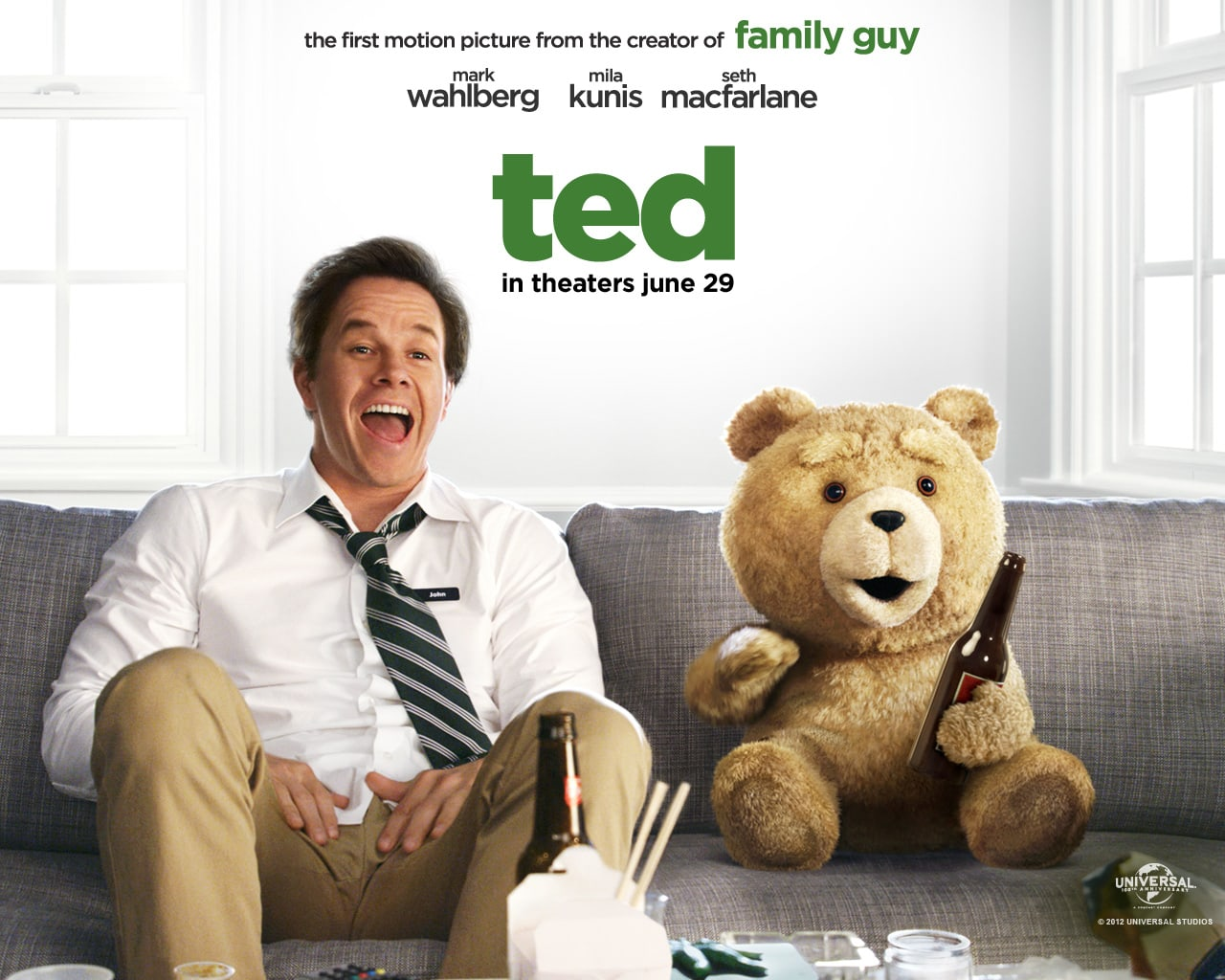 Ted Papel de Parede