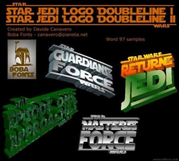 Star Wars Font Collection