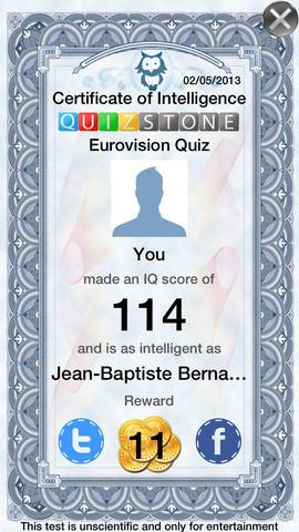 Eurovisie Songfestival Quiz Editie 1956-2013