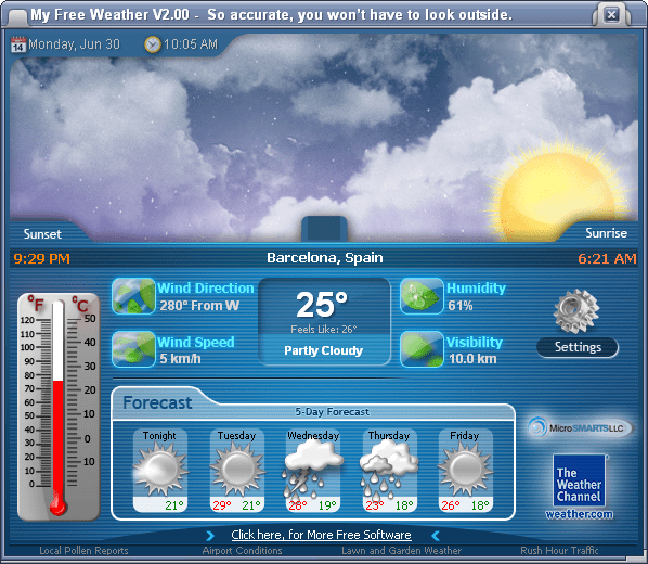 My Free Weather
