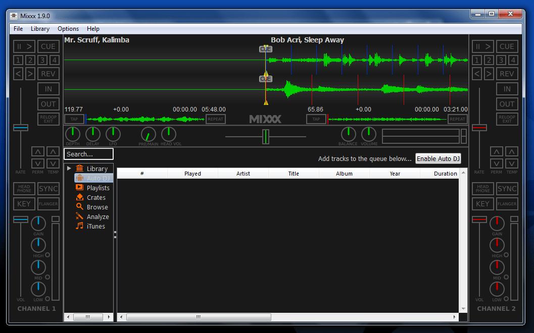 Mixxx Portable (X-Mixxx)
