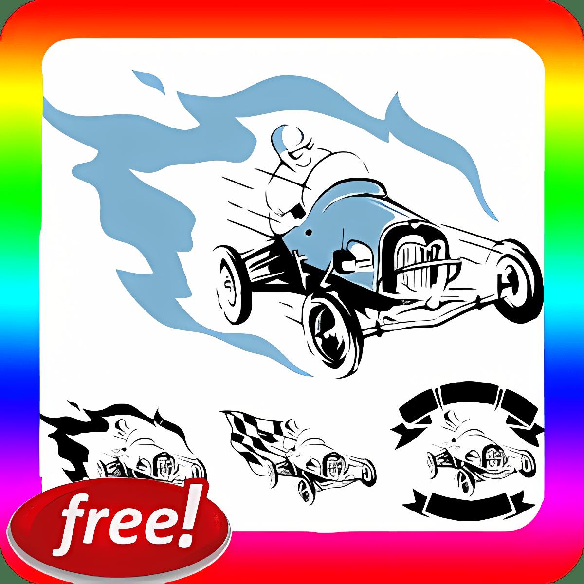 Drag Race Car colección Sound