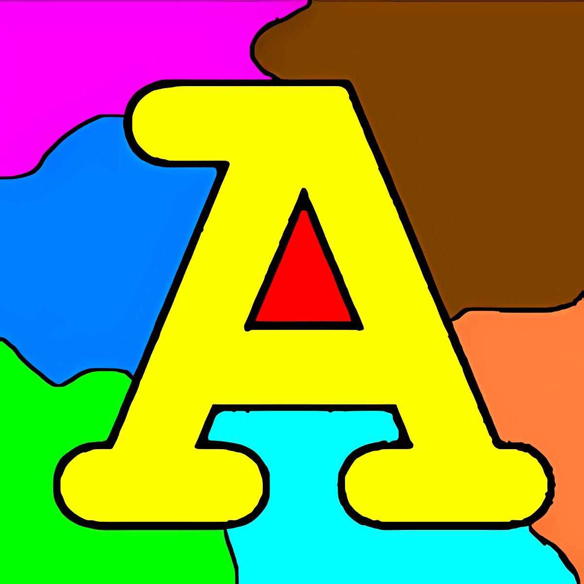 Dibujos para colorear - ABC