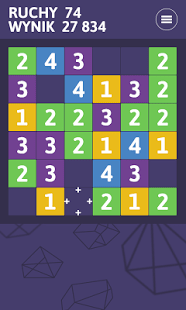 POP4 Number puzzle game FREE