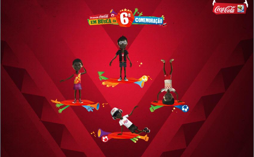 Pacote Gifts Coca-Cola Copa 2010