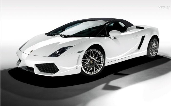 Lamborghini Windows 7 Theme