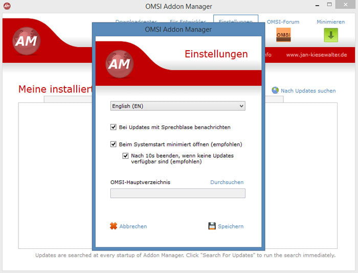 OMSI Addon Manager