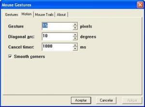 Mouse Gestures for Internet Explorer
