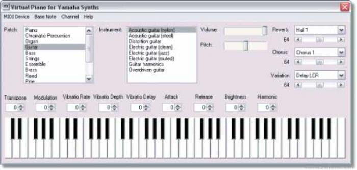Virtual Piano