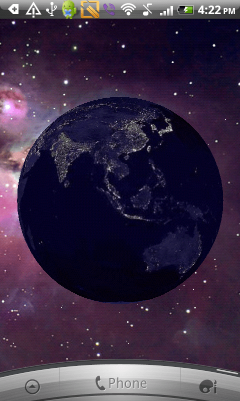 Tapety Earth Live Wallpaper