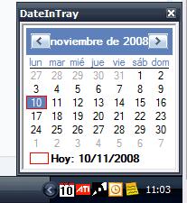 DateInTray