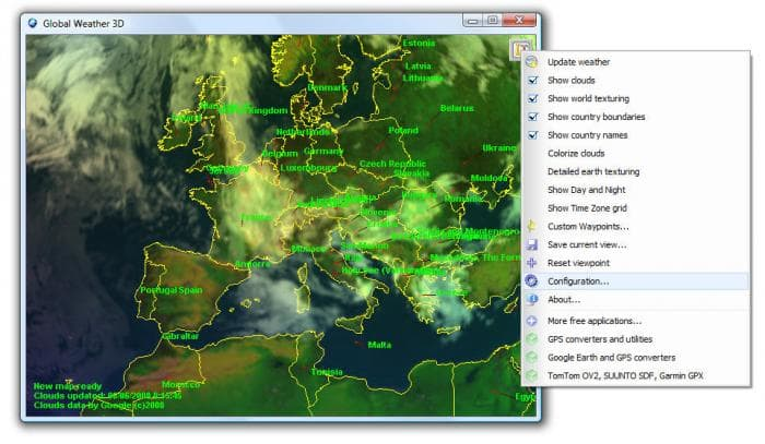 Global Weather 3D