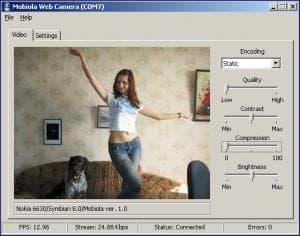 Mobiola WebCamera