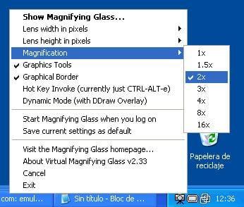 Virtual Magnifying Glass