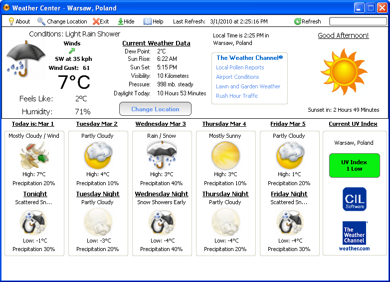 Weather Center