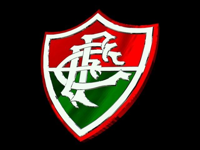 Escudo 3D do Fluminense