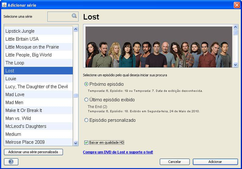TED Torrent Episode Downloader