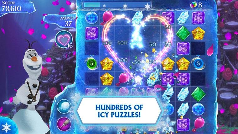Frozen Free Fall na Windows 10