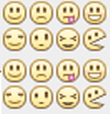 Facebook Chat Emoticons Bar
