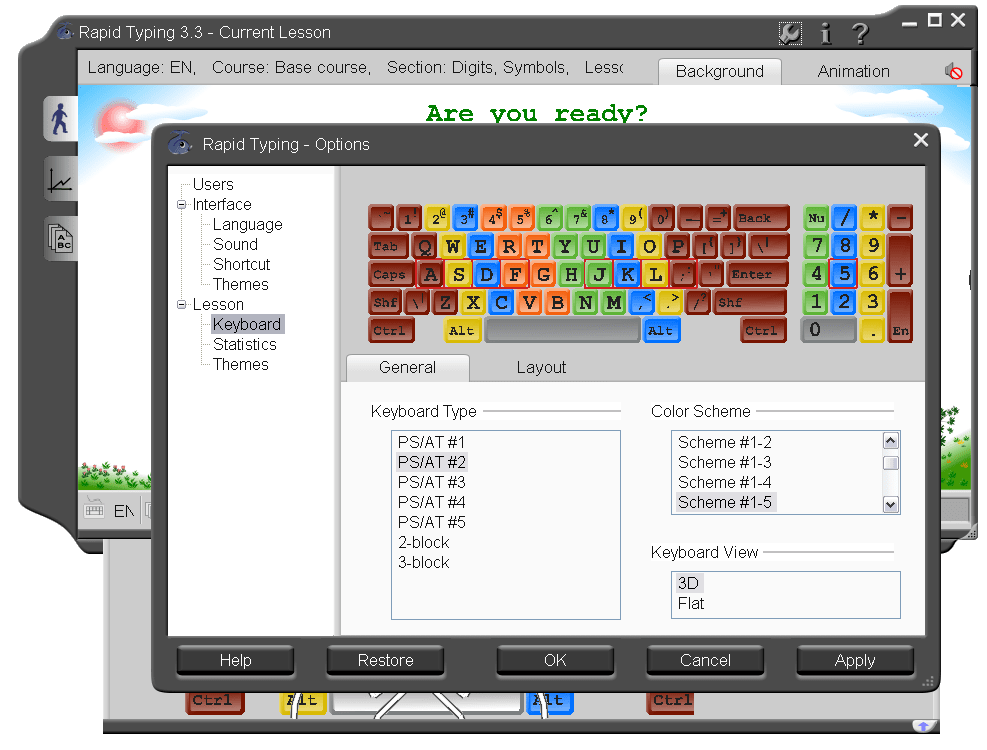 RapidTyping Portable