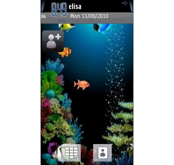 Animated Aquarium Theme