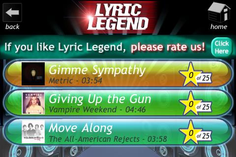 Lyric Legend 0.9.008