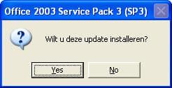 Microsoft Office 2003 Service Pack