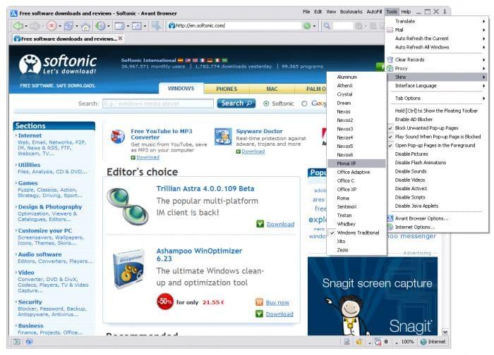 Avant Browser Portable