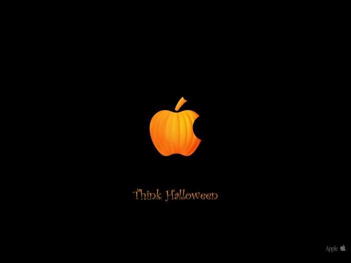 Think Halloween Papel de parede